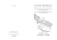 Promed-AG03-user-manual